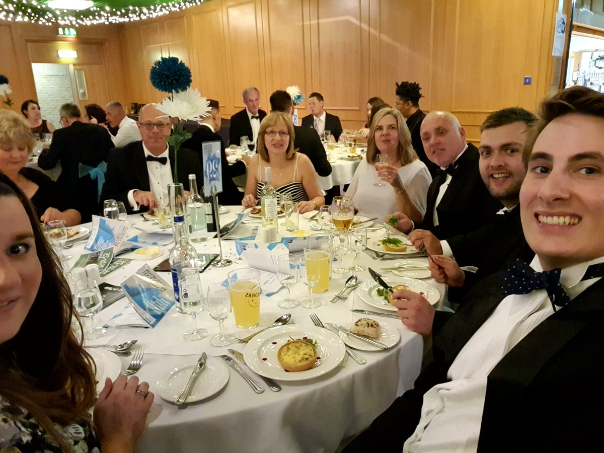 Team Steve Bristow looking forward to a great evening. Good luck everyone! #SDBA19