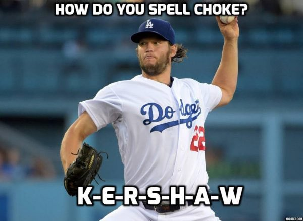 Hey @SFGiants @SFGiantsFans there's always something to cheer for in October! 🤣 OUR ACE IS BETTER THAN YOURS IN THE POSTSEASON! #LADvsWSH #NLDS