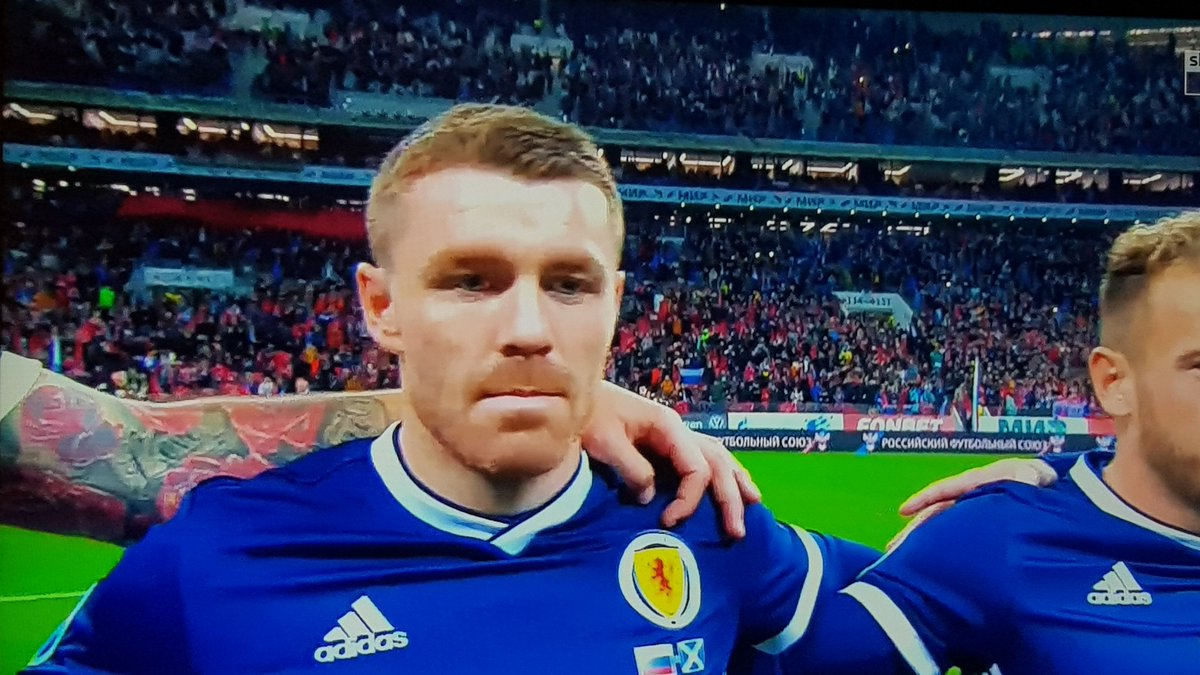 Flecky in the zone for his Scotland debut vs Russia! #sufc #twitterblades <br>http://pic.twitter.com/dXZsjydYLl