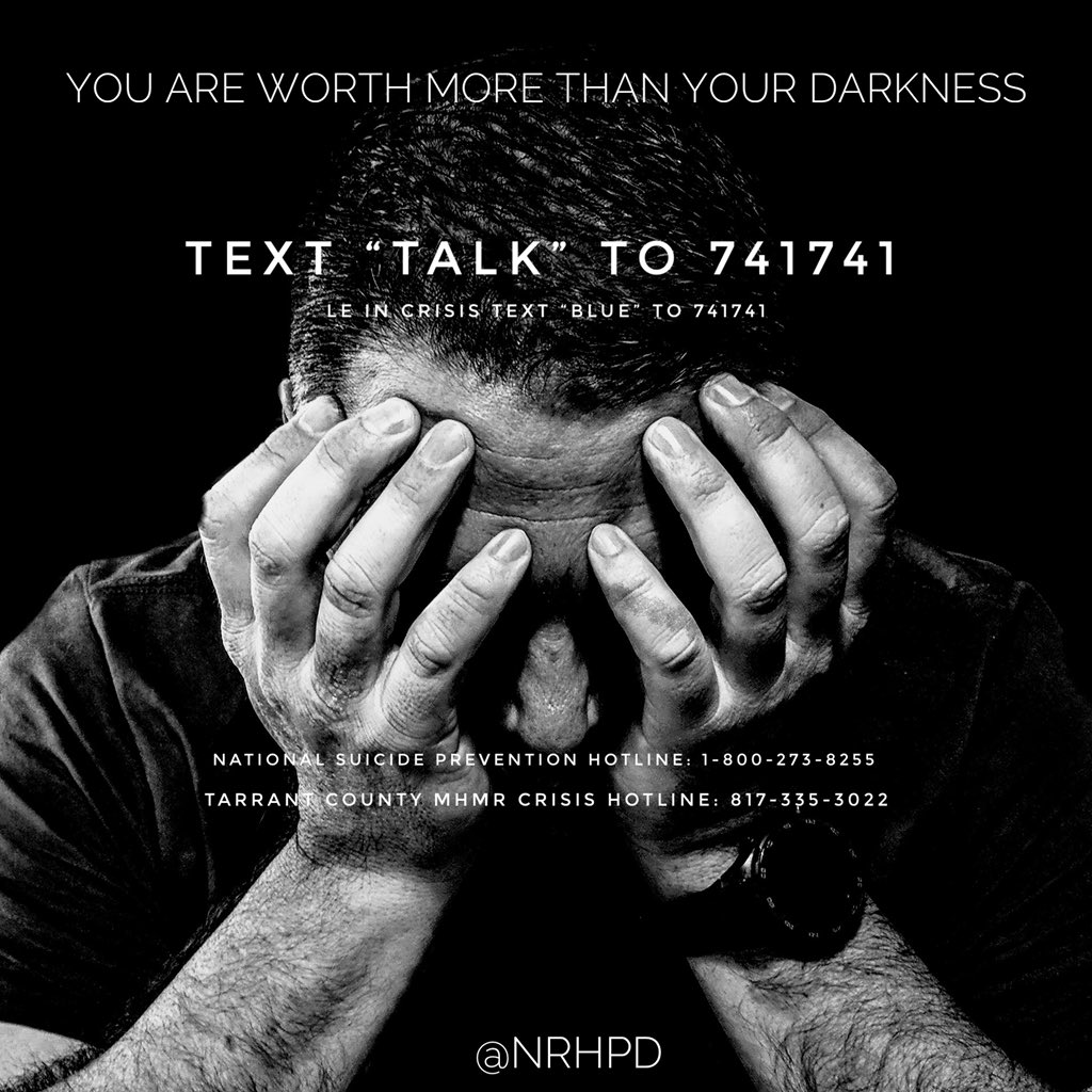 Sometimes, asking for help is the bravest thing you can do. You don't have to do it alone. #WMHD #WMHD2019 #WorldMentalHeathDay #SuicidePrevention #SuicideAwareness