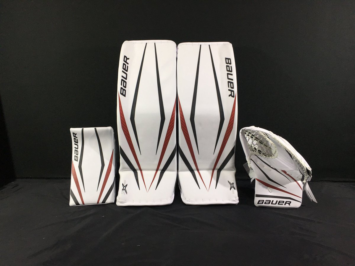 Update: @BauerHockey has released a full pic of Reimer's @Canes set. Big fans.