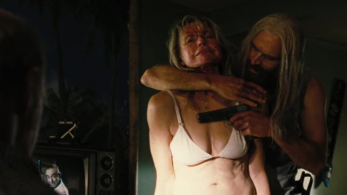 Blonde from devils rejects naked, real sex scandal girlfriend busted