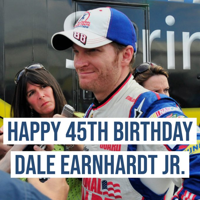Happy Birthday Dale Earnhardt Jr.!