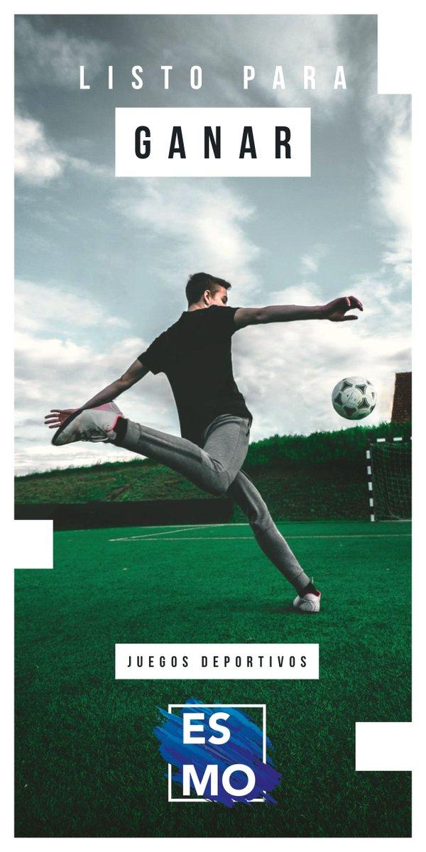 🏃🏻♀️🏃🏻♂️La espera terminó y los equipos ya están entrenando, los juegos deportivos están cerca 👏🏻  ✅ Recuerda participar y hacer deporte.   #ESMO #InteligenciaFuerzaVoluntad #Atlixco #Puebla #México #NuevaEscuelaMexicana #EducaciónBásica #AccionesPorLaEducación