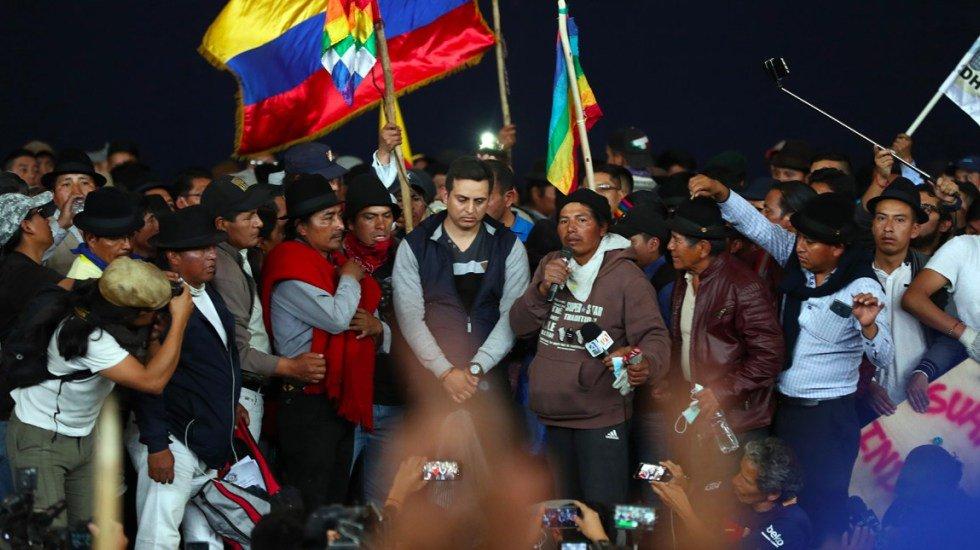 Al menos 714 personas fueron detenidas durante protestas en Ecuador http://bit.ly/2ouCYYg