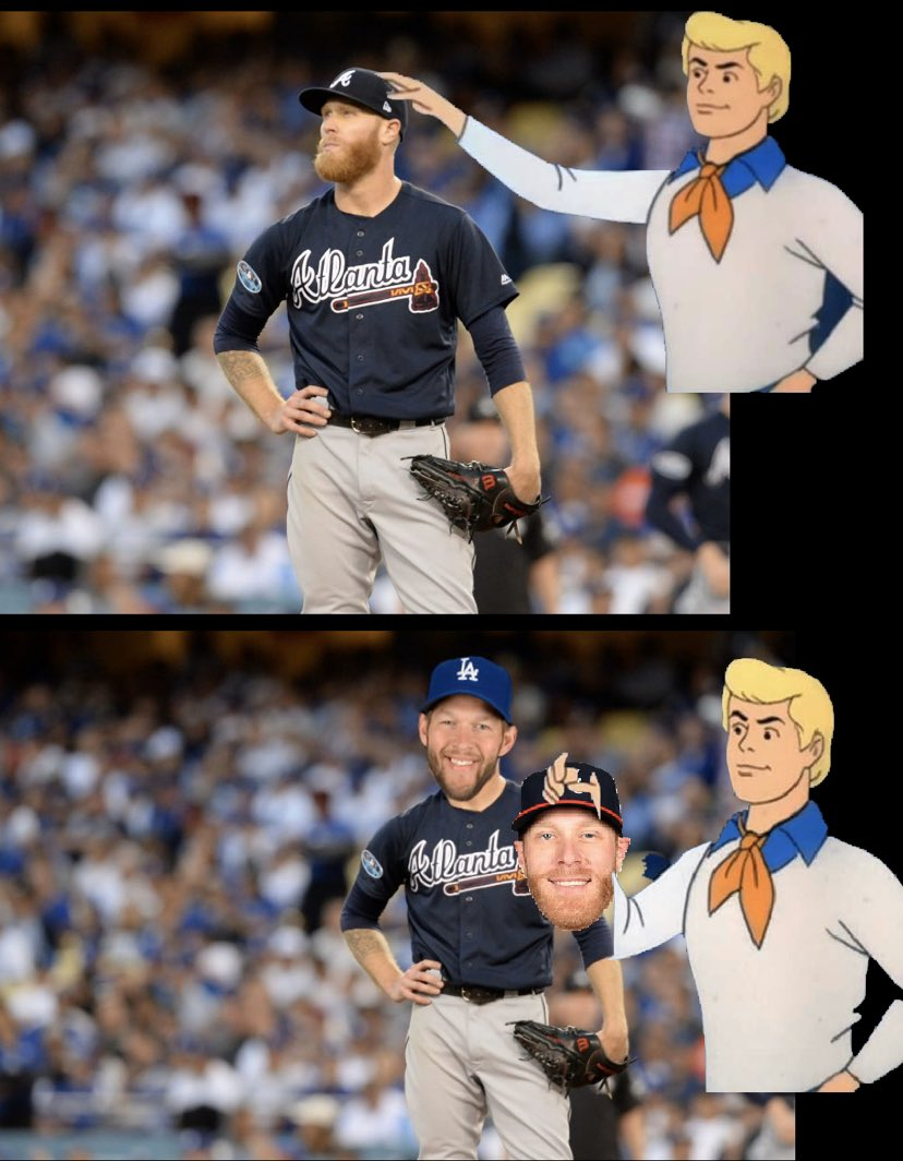 What really happened to the @braves in first inning of #NLDSgame5 @Dodgers @MLB @barstoolsports @Wilks3Wilks @_jham13 @K_Ross7