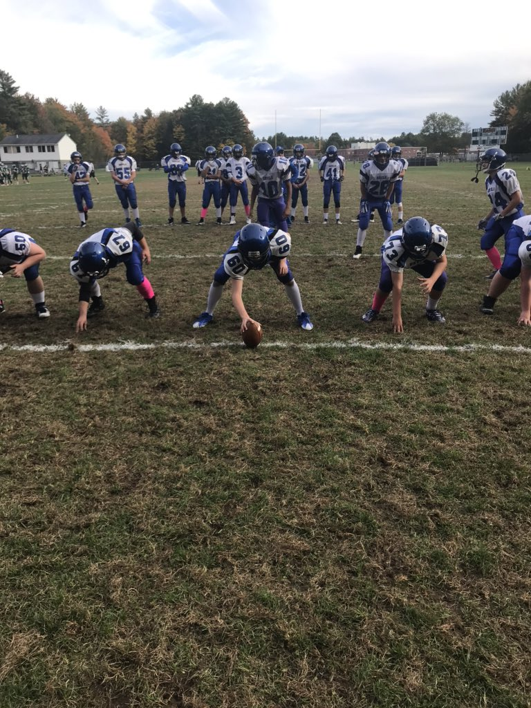 Proud coach today! The Blue Devil Freshman went today and played with a ton of heart and pride against all odds beat the Bonney Eagle Scots 32-20 in a hard-hitting smashmouth football game! #BlueDevilPride <br>http://pic.twitter.com/7j3MIiCoXq