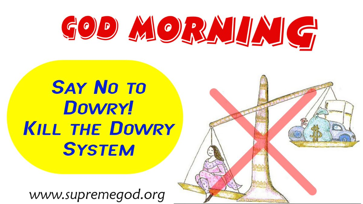 #FridayFeeling #GodMorningFriday DOWY SYSTEM can't be abolished by one or two people for, that we all have to support each other so we all should Saint Rampal Ji Maharaj.  #FridayThoughts <br>http://pic.twitter.com/osaYCGC5zG