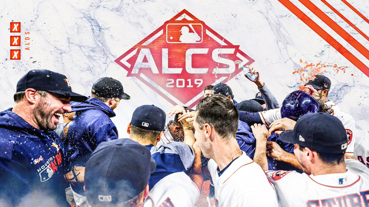 2017, 2018, 2019. Back to the #ALCS! #TakeItBack