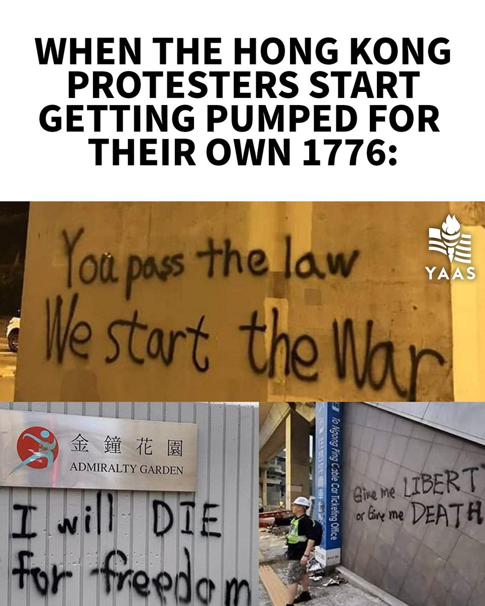 Hong Kong fighting for freedom is something every American should be able to get behind.
