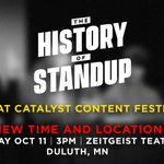 Image for the Tweet beginning: Hey @catalystories Content Festival attendees.
