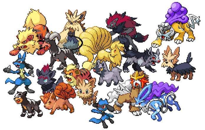 pokemon legendary dogs - 695×441