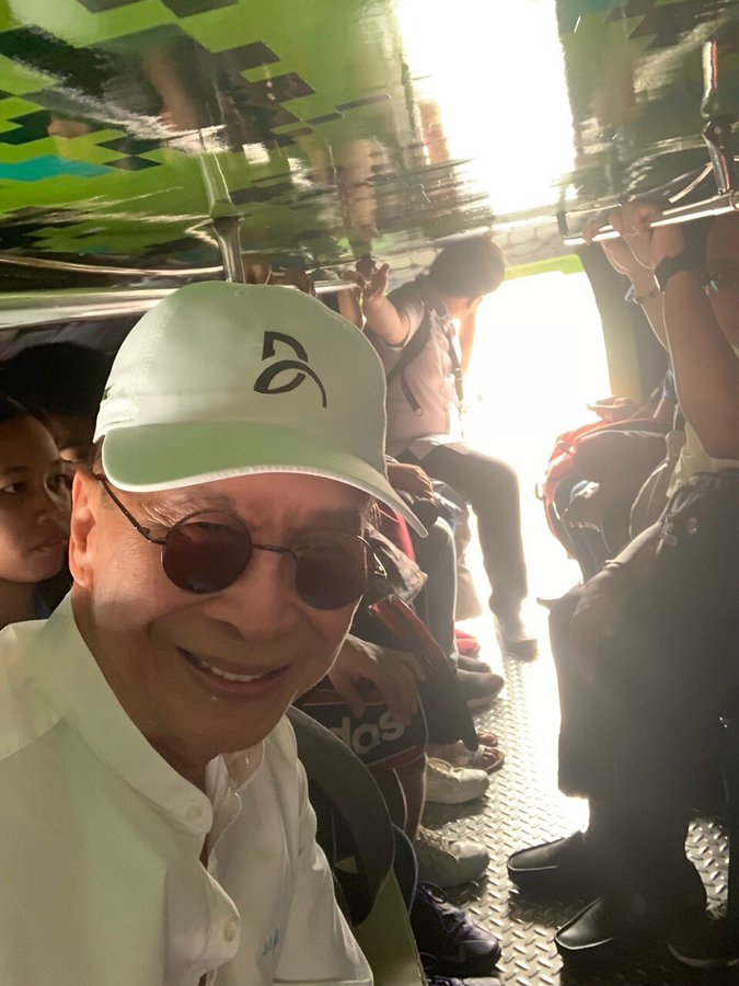Panelo Begins Commute Challenge On Route To Malacañang