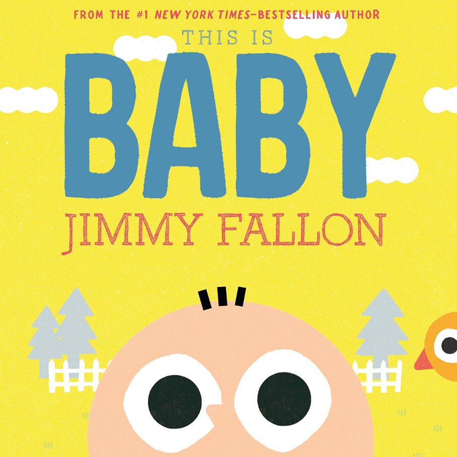 """Congrats to @jimmyfallon  on """"This is Baby!"""" It's a book, not a baby. It's going on my list for best new parent gifts.  https://amzn.to/2VC6YxB"""