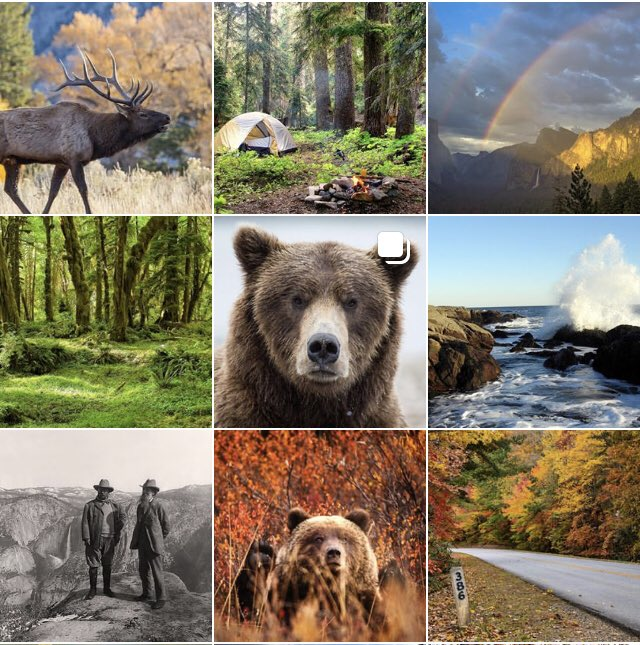 Like parks? Like pictures? Follow the @NatlParkService on @instagram! #FindYourPark