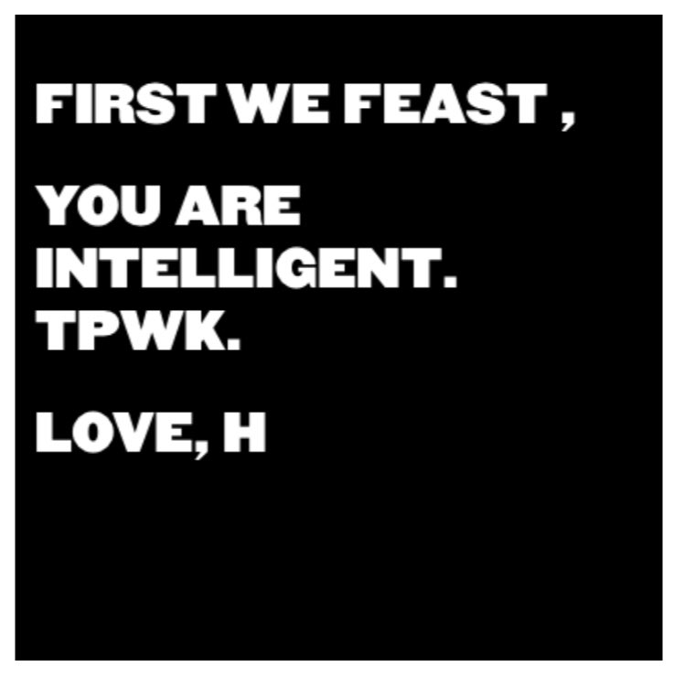 RT @firstwefeast: Oh thanks @harry_styles #DoYouKnowWhoYouAre https://t.co/mQENRPeHsn