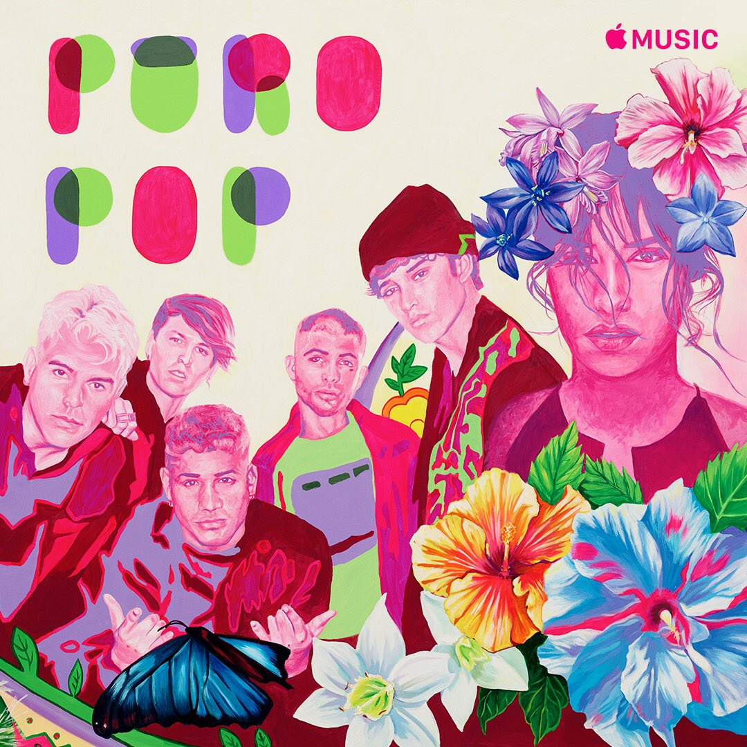 thank u @AppleMusic for having me on the cover of your Puro Pop playlist in celebration of Hispanic Heritage ❤️ apple.co/PuroPop #PaLaCultura