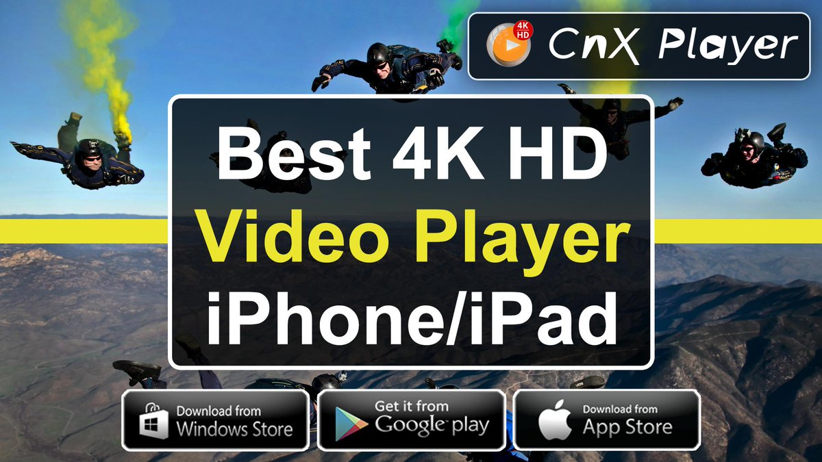 Cnx Player On Twitter Https T Co Mi9anfi4k1 Ads Free Best 4k Media Player For Iphone Https T Co 75eu9kpnhk Https T Co 6wgjc8gbam Https T Co Vhi2yinegj Cnxplayer Ios Ipad Iphone App 10bit 4k Hdr Uhd Ultrahd Firetvstick Chromecast