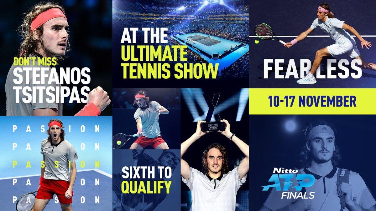 Стефанос Циципас - шестой участник Итогового турнира ATP