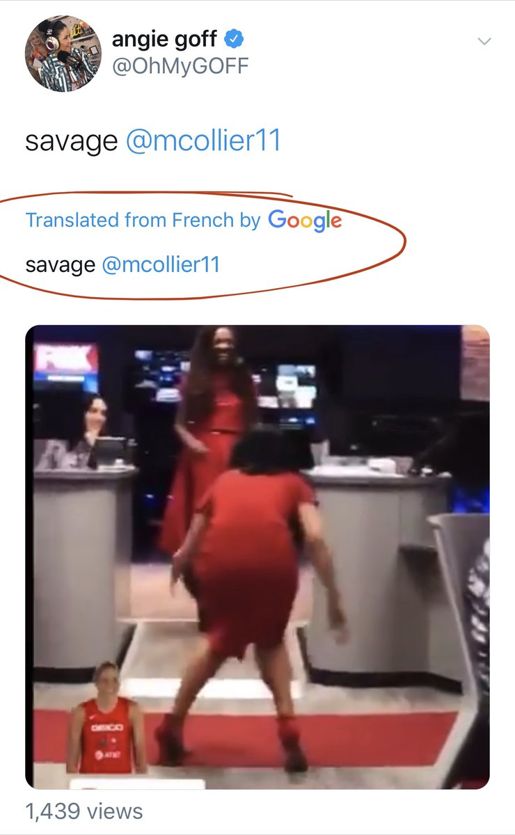@mcollier11 according to google translator you still SAVAGE
