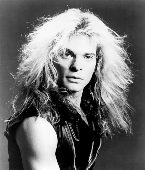 He invented the glamour shot. Happy Birthday, David Lee Roth.