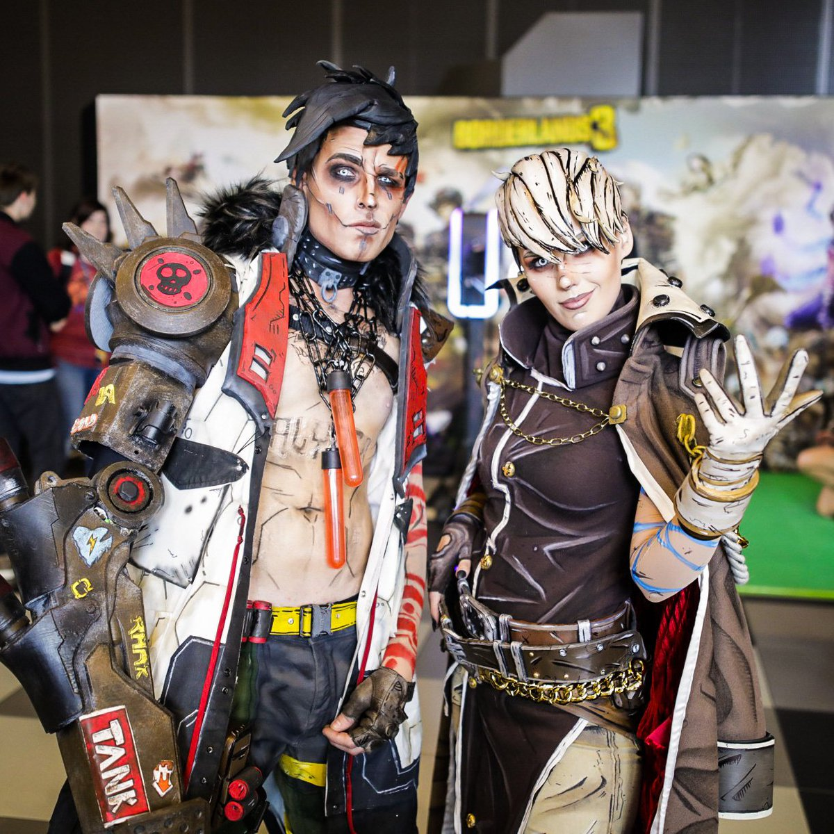 Remember to like, follow and obey! #PAXAUS  #Borderlands3 <br>http://pic.twitter.com/GTDBYn5iEK