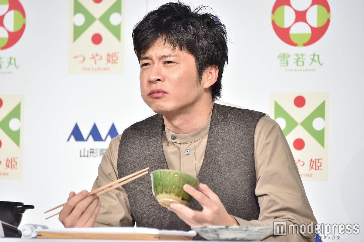 【写真続々追加中】#田中圭 会見で白米をモリモリ試食😊🍚山形ステーキにも悶絶💕「ウマイに決まってるやつぅ~」🔻フォトギャラリー
