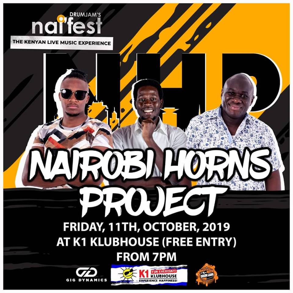 Come dressed to boogie! See you all tonight #BlackinGold #NairobiHorns #FunkiestBandinNairobi