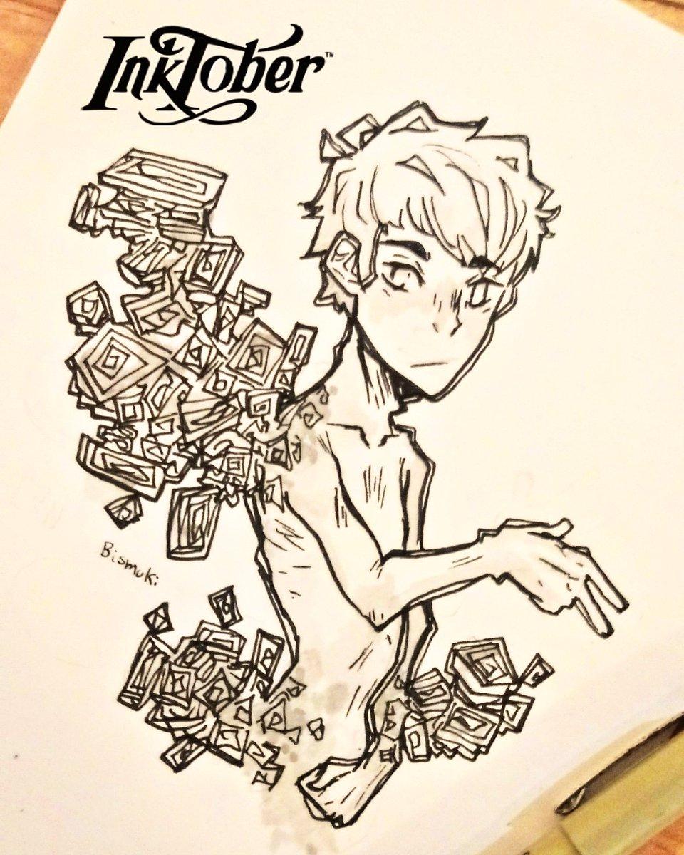 ✖ Inktober day 10: Pattern ✖ Bismuth ; D : : : Tags: #bismuth #bismuto #gems #inktoberday10 #pattern #patterndesing #intober #inktober2019 #guro #bi #sketch #sketchbook #traditionalart #doodle #ink #myart #youngartist #aesthetic #artistsoninstagram #artstagram #anime
