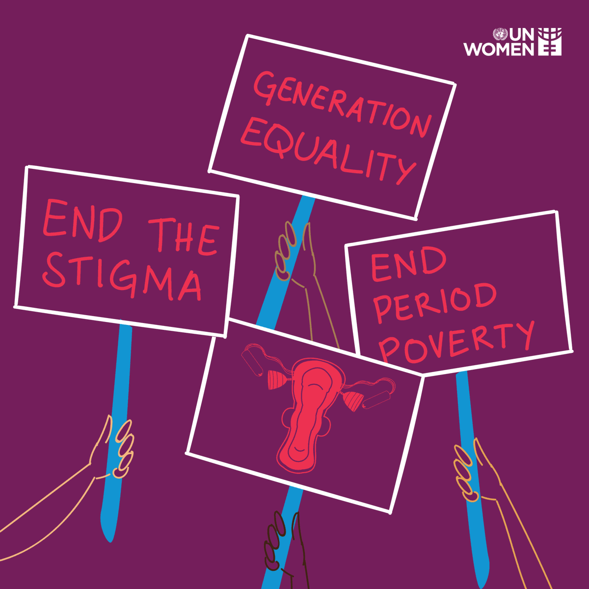 Periods. Menstruation. Monthlies.  It affects girls and women everywhere.  Let's end the stigma on this #dayofthegirl:  v @UN_Women
