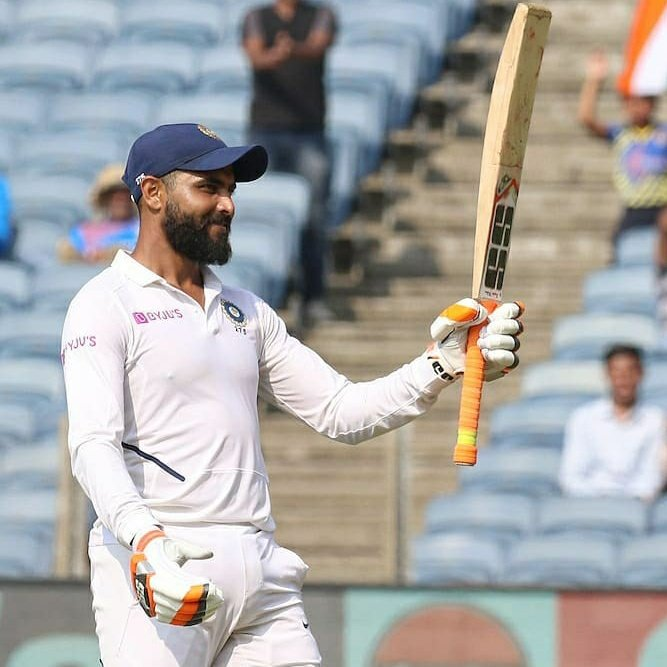 Kola massu Saare! A beautifully paced 91 from Sir Jaddu @imjadeja before the Indian declaration! #WhistlePodu #INDvSA <br>http://pic.twitter.com/chIt9IcCne