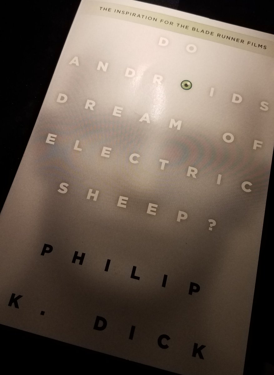 "Now reading ""Do Androids Dream Of Electric Sheep"" by Philip K. Dick #PhilipKDick #ScienceFiction"