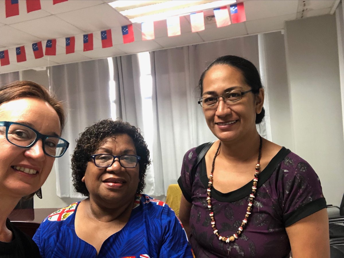 Great week planning for our new 5 year @GACD_media @nhmrc funded project in strengthening and monitoring food policy in Samoa @georgeinstitute @FNUFijiMedical @GLOBE_obesity @WHO @FAO @WorldBank @spc_cps