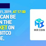 Image for the Tweet beginning: 🎉 MIRCOIN NOTICE 🎉  MIR COIN