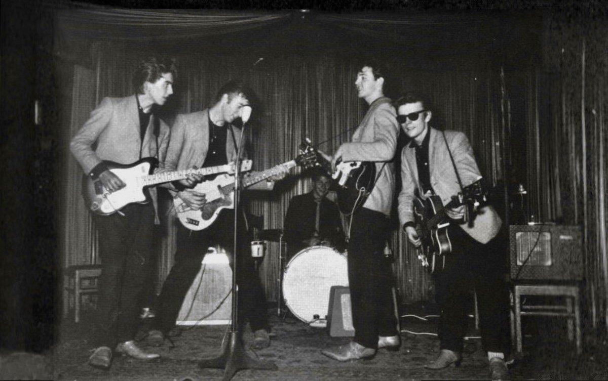 """Beatles HamburgTours on Twitter: """"Hamburg 1960. On the threshold ..."""