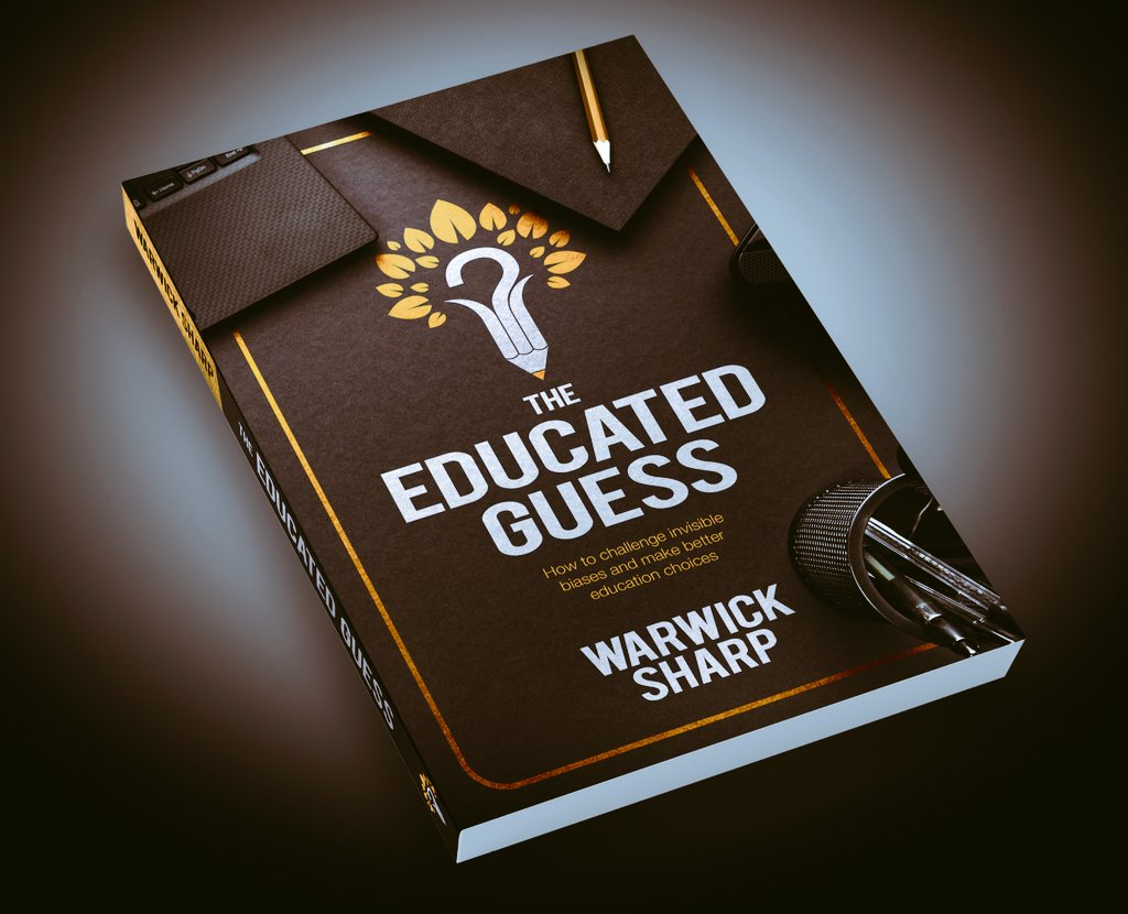 Delighted to say that my new book - The Educated Guess - is out now! The big idea: Why challenging invisible biases could help us all when we make education choices... 👇