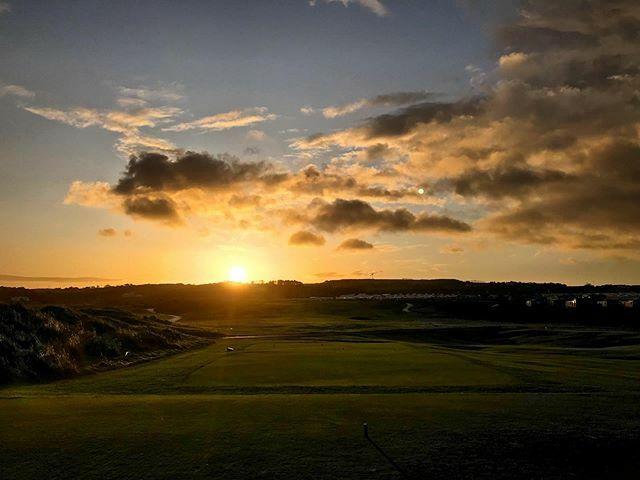 Good Morning from Royal Portrush! ⛳️ #Golf #Ireland #Portrush #NorthCoast #Winter ift.tt/2MvODOv