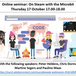 Image for the Tweet beginning: Free Online Seminar: On Steam
