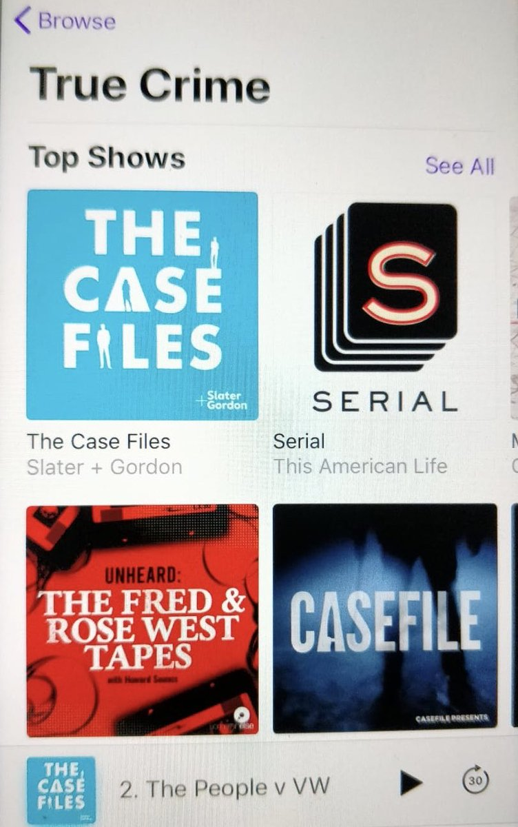 If you're looking for a new podcast series on your way to work tomorrow morning, check out @TheCaseFilesUK 🎧 #casefilespod
