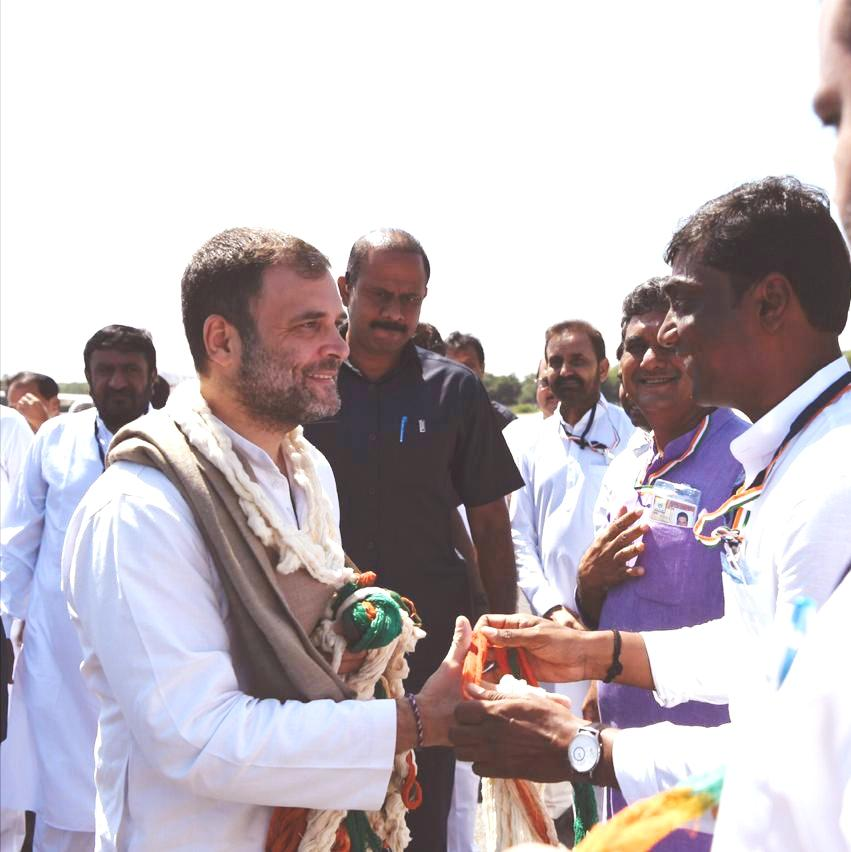 Rahul Gandhi appears in two courts in Gujarat for as many defamation cases, had appeared in Surat court yesterday