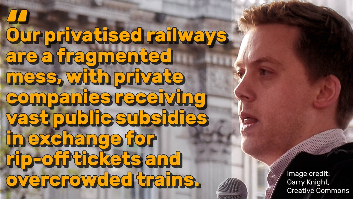 Rail privatisation has been a disaster. @OwenJones84 is right.