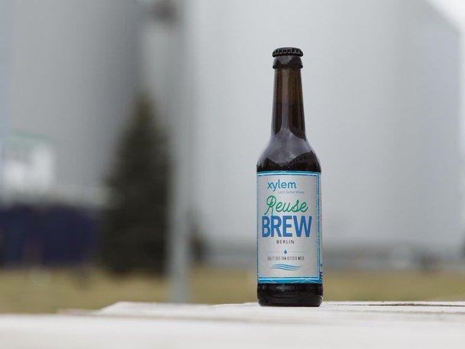 Une bière rare faite à partir des eaux usées ! XylemInc & la société Berliner Wasserbetriebe ont fabriqué une bière à partir de l'eau usée & r...
