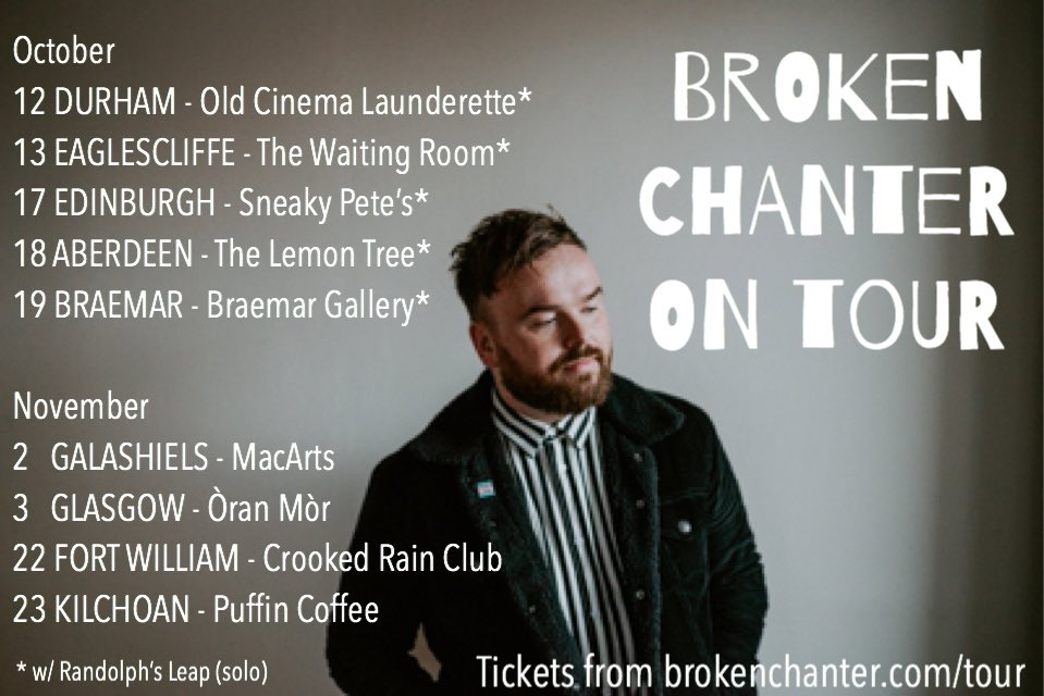 DURHAM! EAGLESCLIFFE! T H I S W E E K E N D! with the fantastic @randolphsleap 🎟👉brokenchanter.com/tour