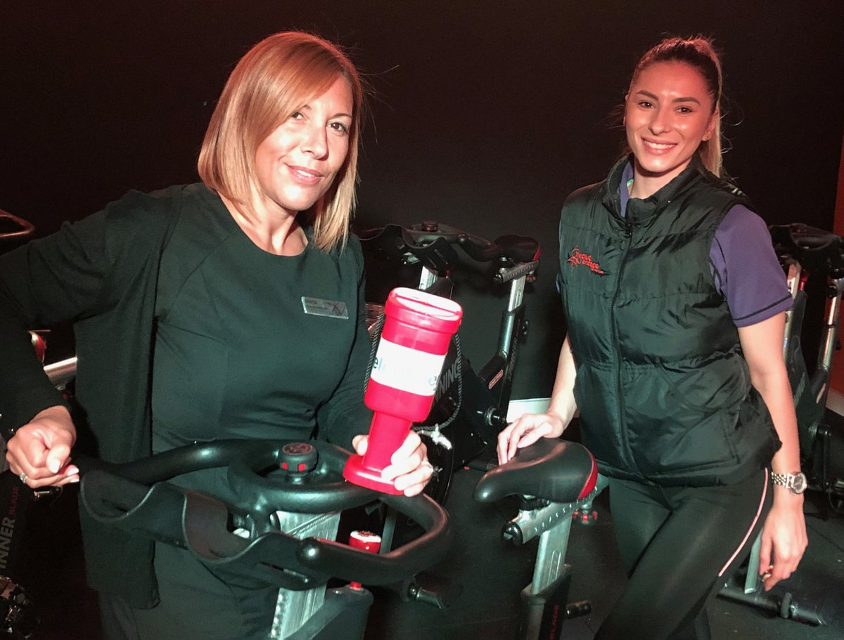 #FundraiserFriday 6) Thanks also to the @clubandspabham who staged a Spin-a-thon as part of #BloodCancerAwarenessMonth with gym-goers raising £100 for Cure Leukaemia.  Much appreciated! #CLFamily pic.twitter.com/pLHWoVsYZ7