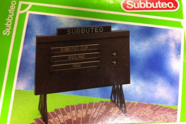 Retweet if you remember owning a Subbuteo scoreboard! https://t.co/9wjmuLHHhm