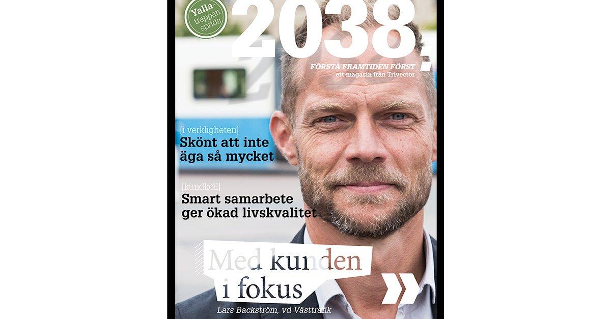 Nu går höstens nummer av 2038 till tryck. Du kan bland annat läsa om Västtrafik som ändrat sitt arbetssätt för att öka kundnöjdheten och hur det är att bo i ett av Sveriges mest hållbara hus. Nyfiken på att prenumerera? https://t.co/lUbxG1aK4R #trivector https://t.co/tuN49dAarj
