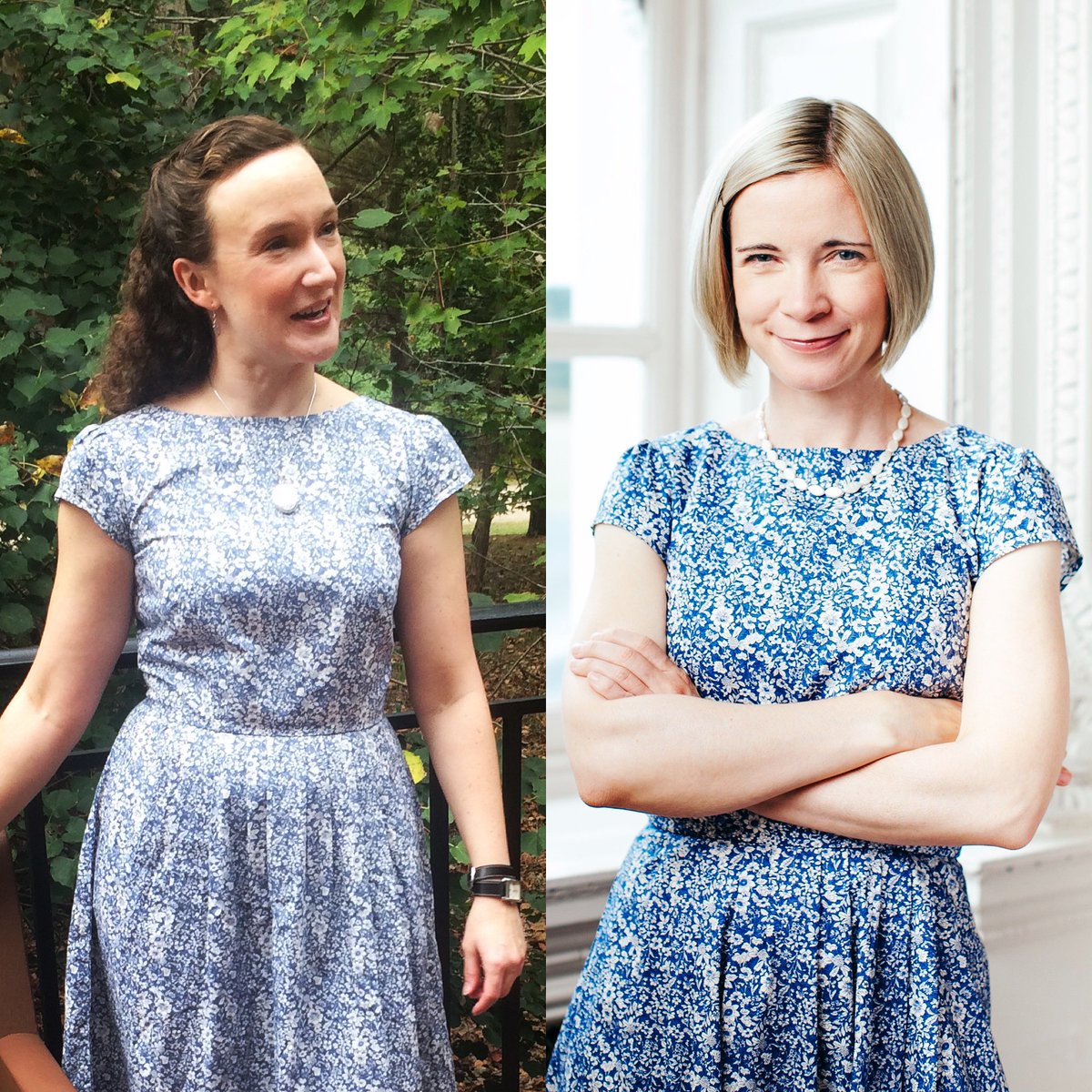 We had so much fun at #JASNAAGM2019 last week and say a huge thank you to all our supporters! We raised $1132 through our Silent Auction alone - here's the lucky new owner of a dress donated by @Lucy_Worsley. We would ask #whoworeitbetter but think they both look fabulous! 💃