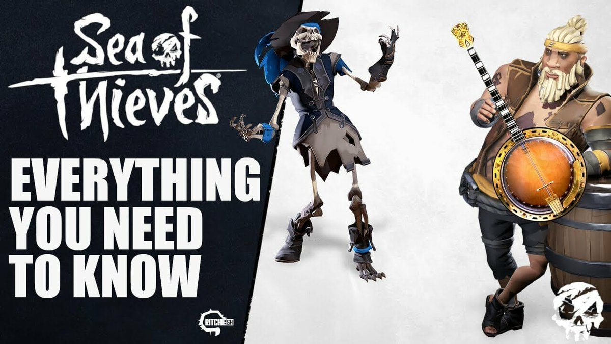 Sea of Thieves - Everything You Need to Know About the Smuggler's Fortune Update!  Link:  ##SeaofThievesPets #emotes #newcontent #newcosmetics #newgameplay #NewUpdate #newvoyages #pets #pirateemporium #ritchiesh #seaoftheives #seaofthieves