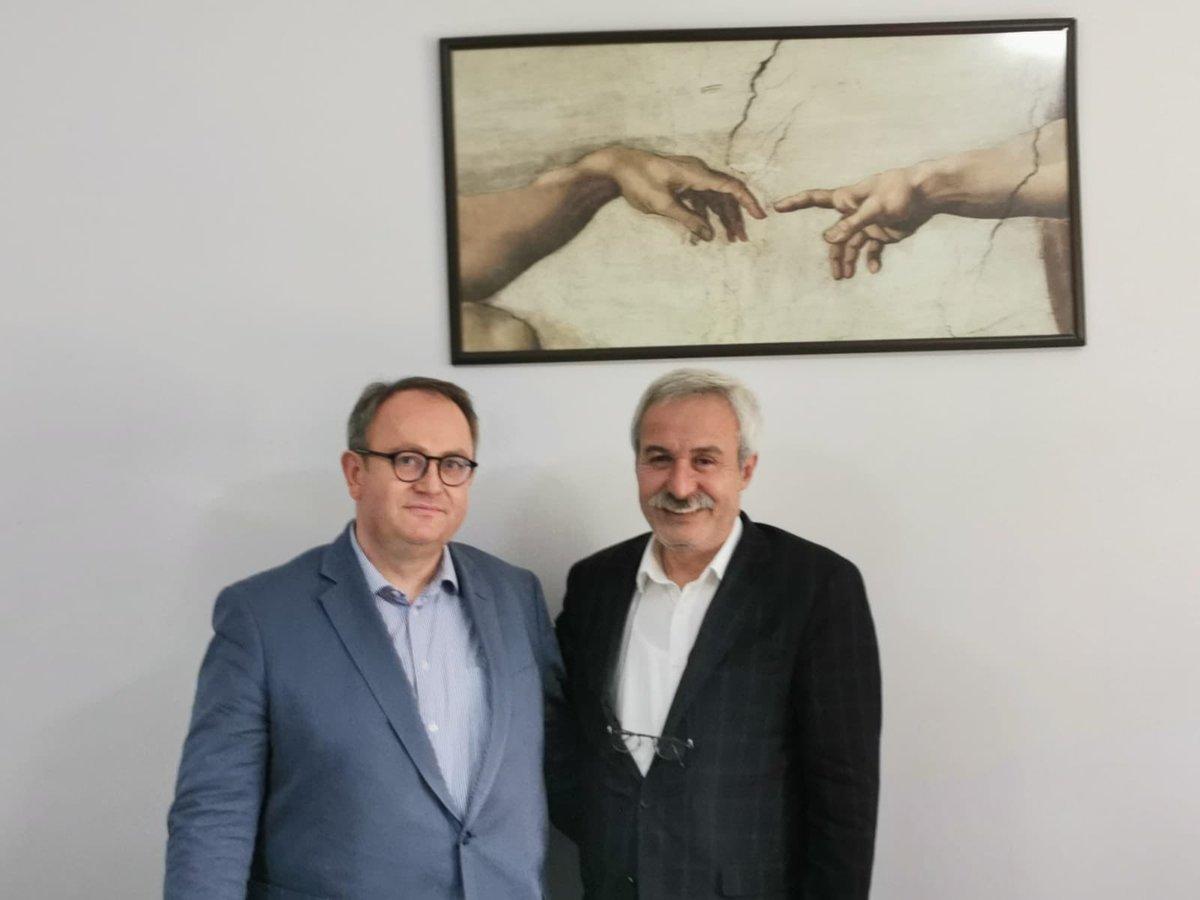Fransa Parlamentosu Milletvekili Sn. Jean-Yves Leconte'ye bizleri Amed'de ziyaretlerinden dolayı çok teşekkür ediyorum.