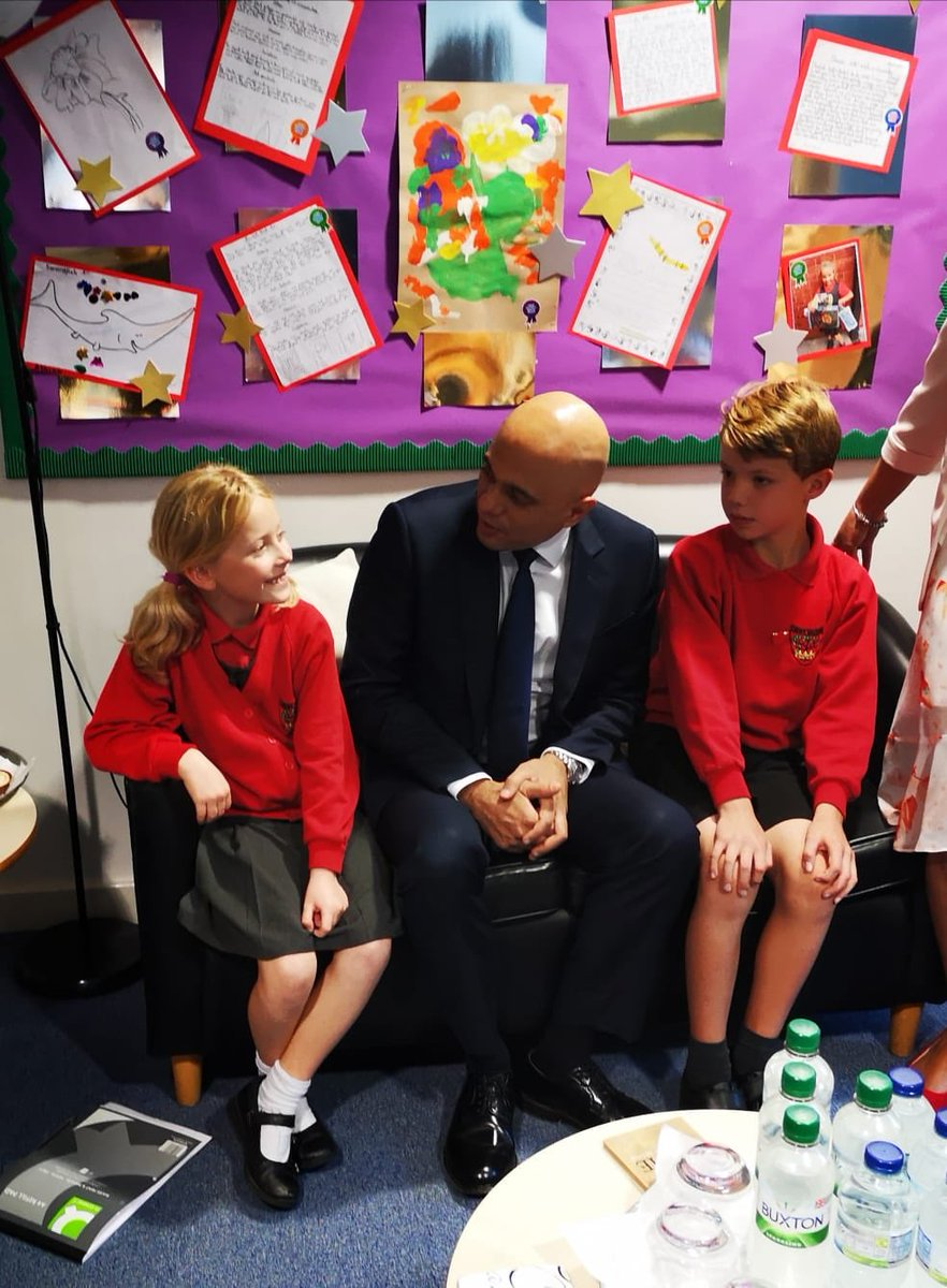 With some of my youngest constituents at Crown Meadow First School! #Bromsgrove